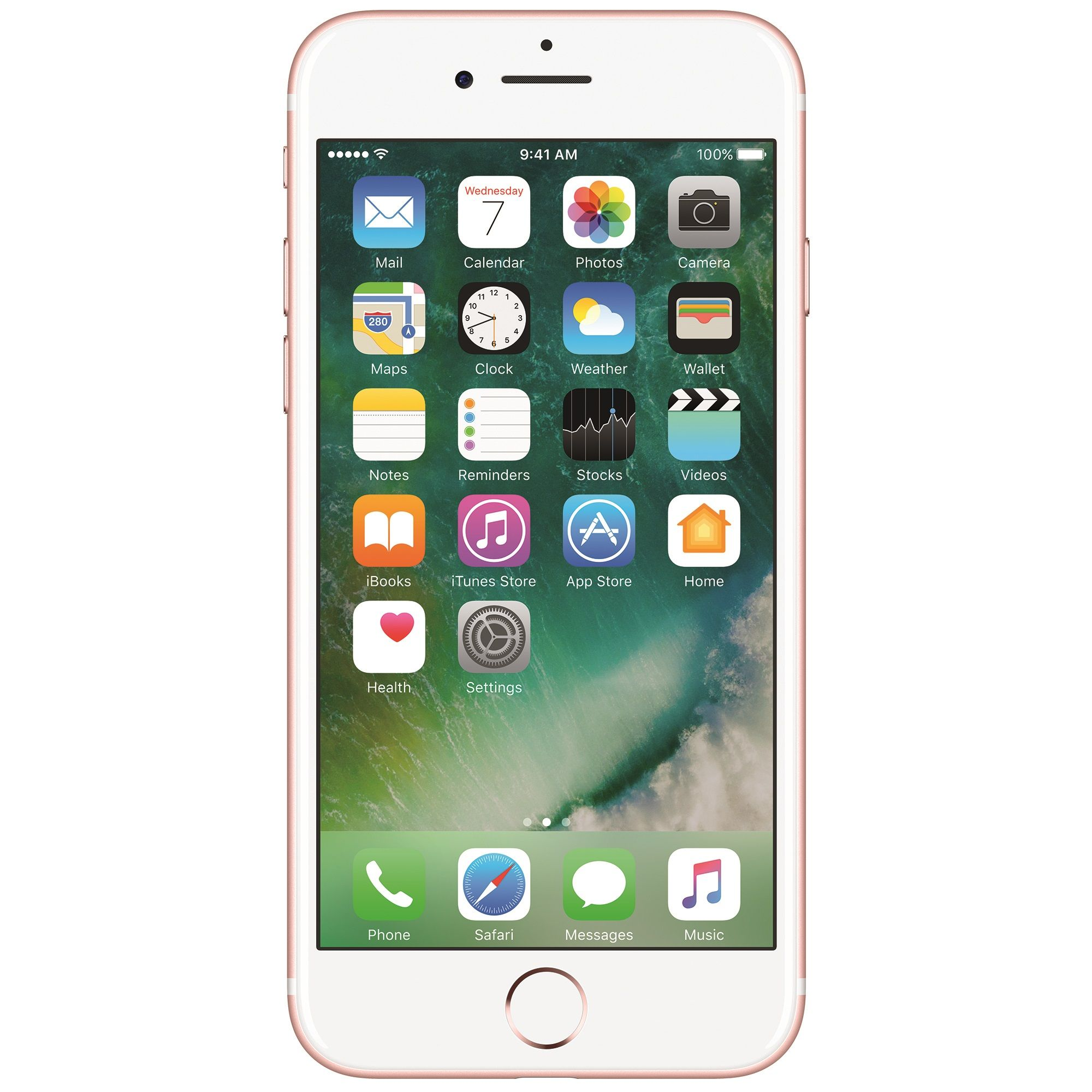 Telefon mobil Apple iPhone 7, 128GB, 2GB RAM, 4G, Rose Gold