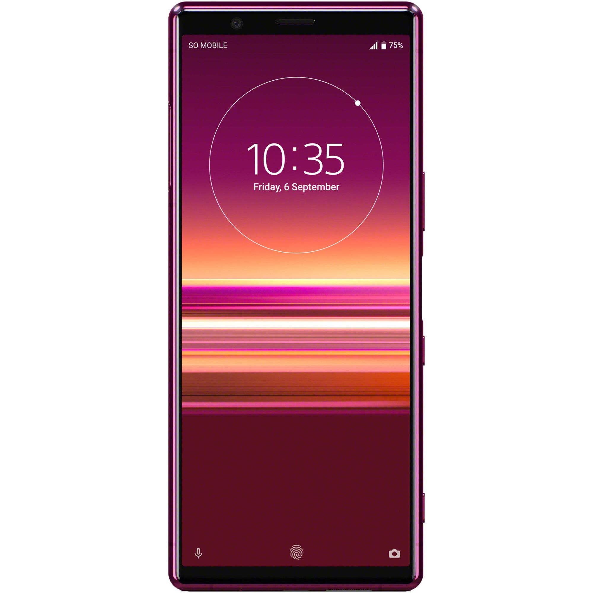 Telefon mobil Sony Xperia 5, Single SIM, 128GB, 6GB RAM, 4G, Red
