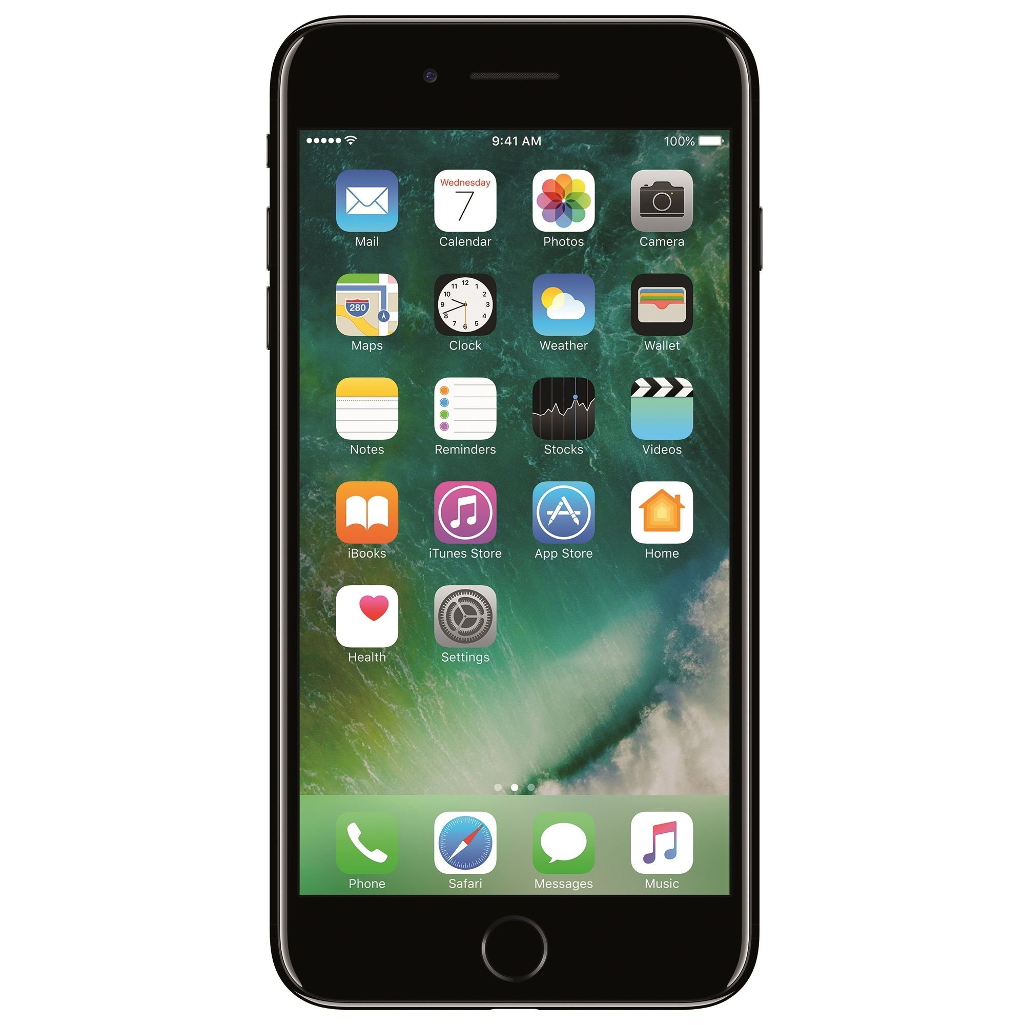 Telefon mobil Apple iPhone 7 Plus, 256GB, 3GB RAM, 4G, Jet Black