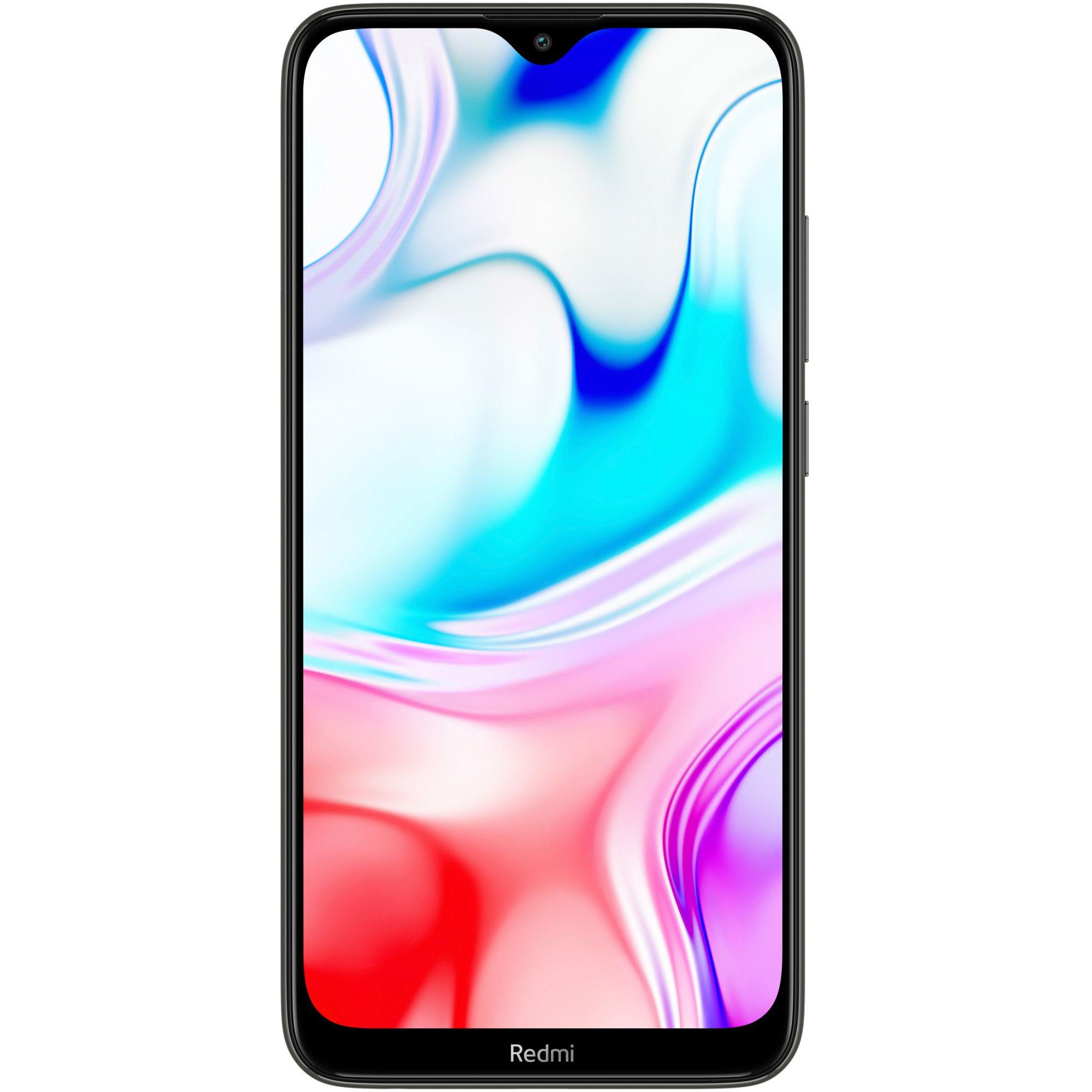 Telefon mobil Xiaomi Redmi 8, Dual SIM, 32GB, 3GB RAM, 4G, Onyx Black