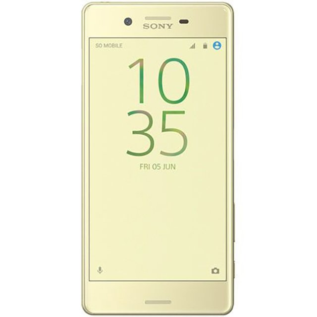 Telefon mobil Sony Xperia X, Single SIM, 32GB, 3GB RAM, 4G, Lime Gold
