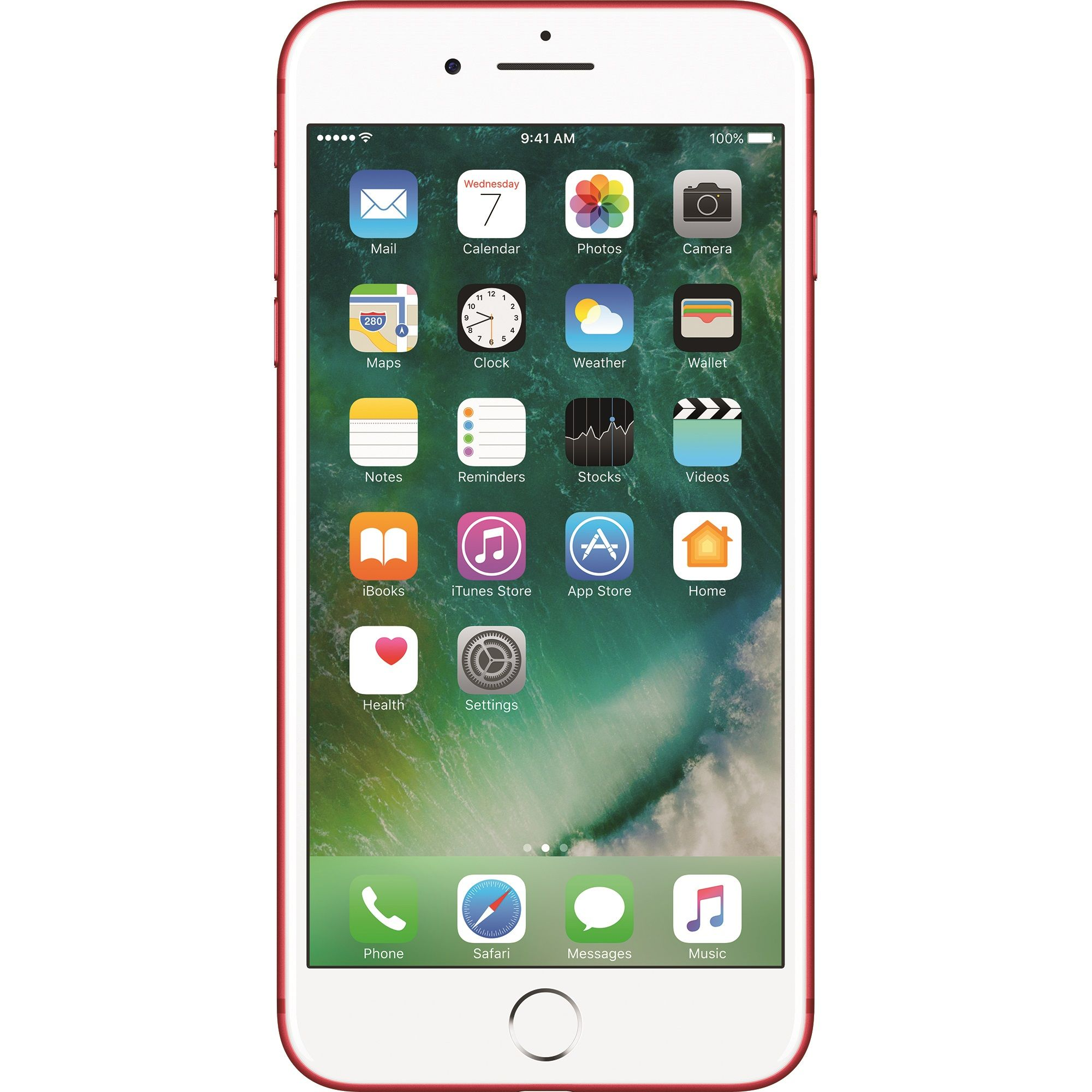 Telefon mobil Apple iPhone 7 Plus, 256GB, 3GB RAM, 4G, Red