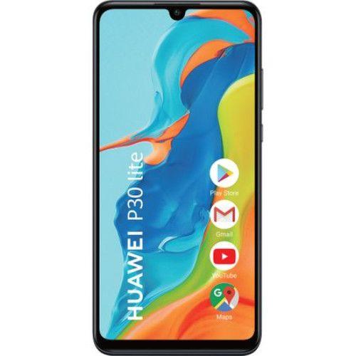 Telefon mobil Huawei P30 Lite, Dual SIM, 128GB, 4GB RAM, 4G, Midnight Black