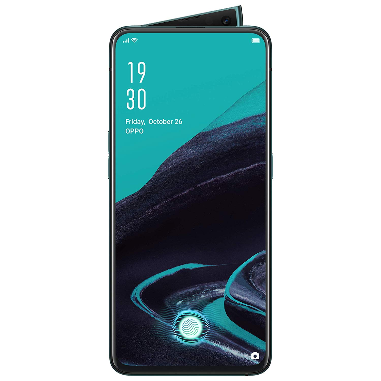 Telefon mobil OPPO Reno2, Dual SIM, 256GB, 8GB RAM, 4G, Ocean Blue