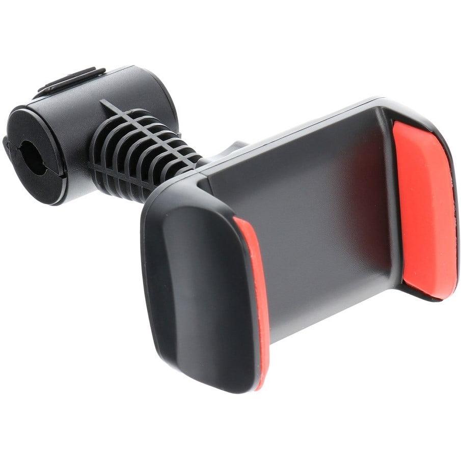 Suport auto universal 360° pentru tableta, Prindere cu clema, Black