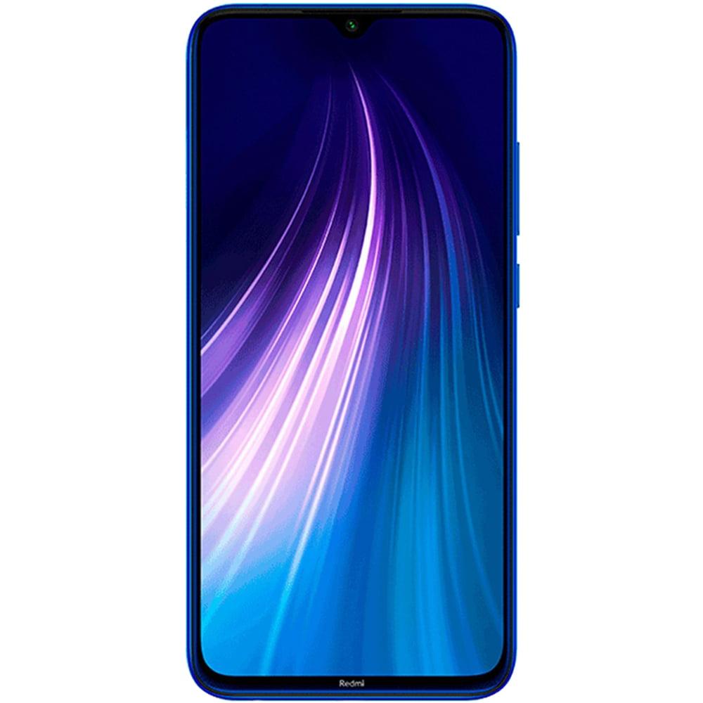 Telefon mobil Xiaomi Redmi Note 8, Dual SIM, 64GB, 4GB RAM, 4G, Versiunea Globala, Neptune Blue