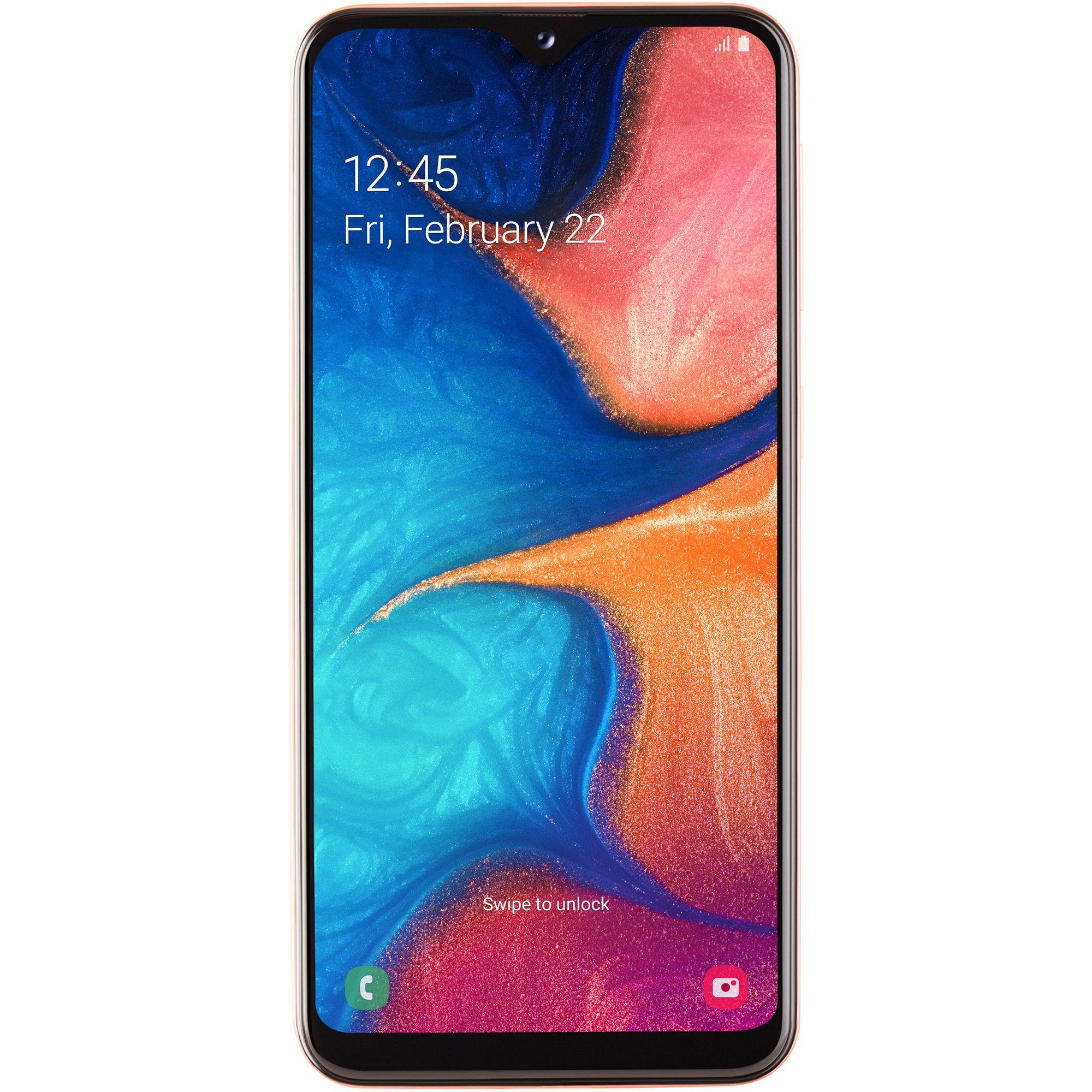 Telefon mobil Samsung Galaxy A20e, A202, Dual SIM, 32GB, 3GB RAM, 4G, Coral