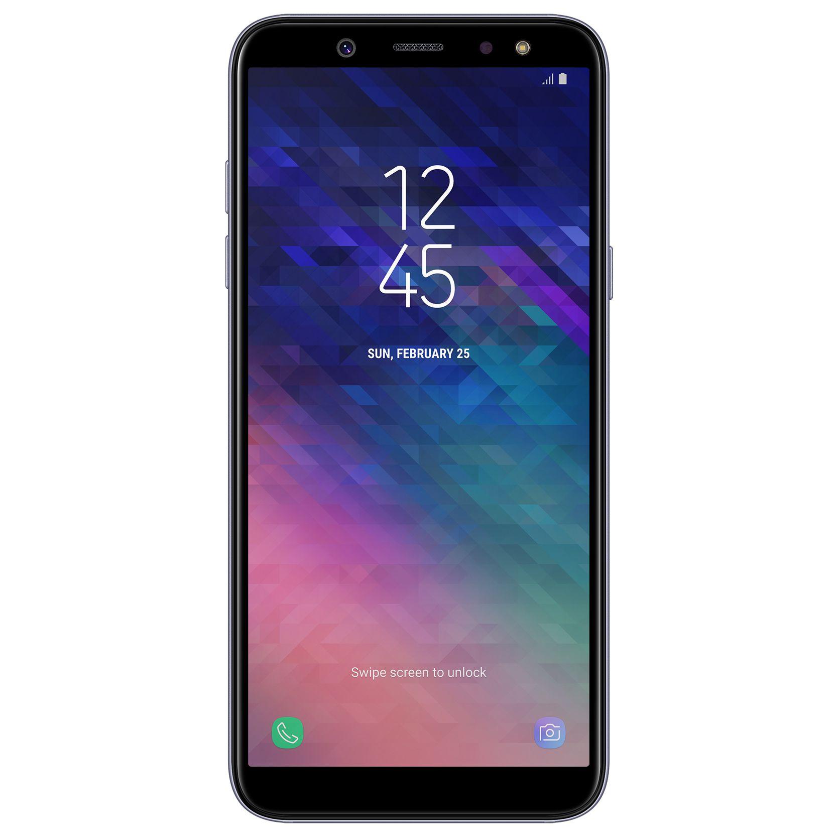 Telefon mobil Samsung Galaxy A6 (2018), A600, Dual SIM, 32GB, 3GB RAM, 4G, Orchid Gray