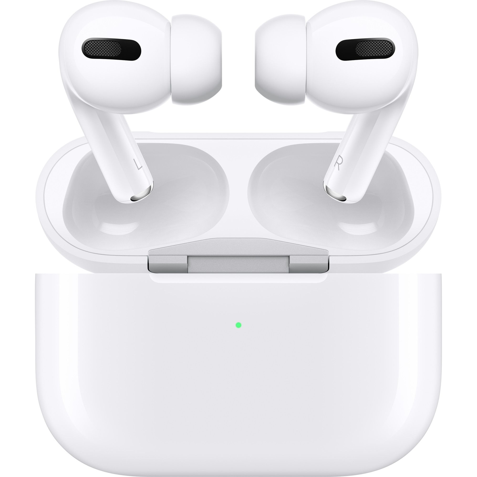 Casti In-Ear, Apple AirPods Pro, True Wireless Bluetooth, Noise Cancelling, White
