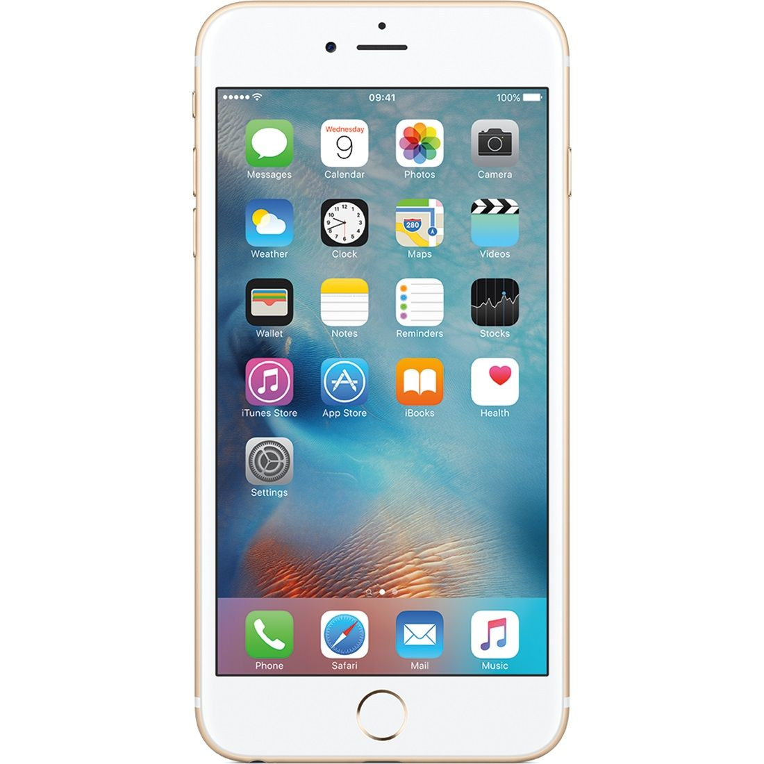 Telefon mobil Apple iPhone 6s, 128GB, 2GB RAM, 4G, Gold