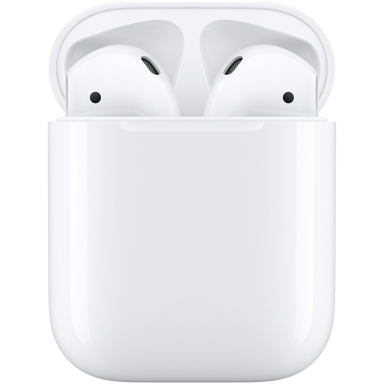 Casti In-Ear Apple AirPods 2, MV7N2ZM/A, True Wireless Bluetooth, White