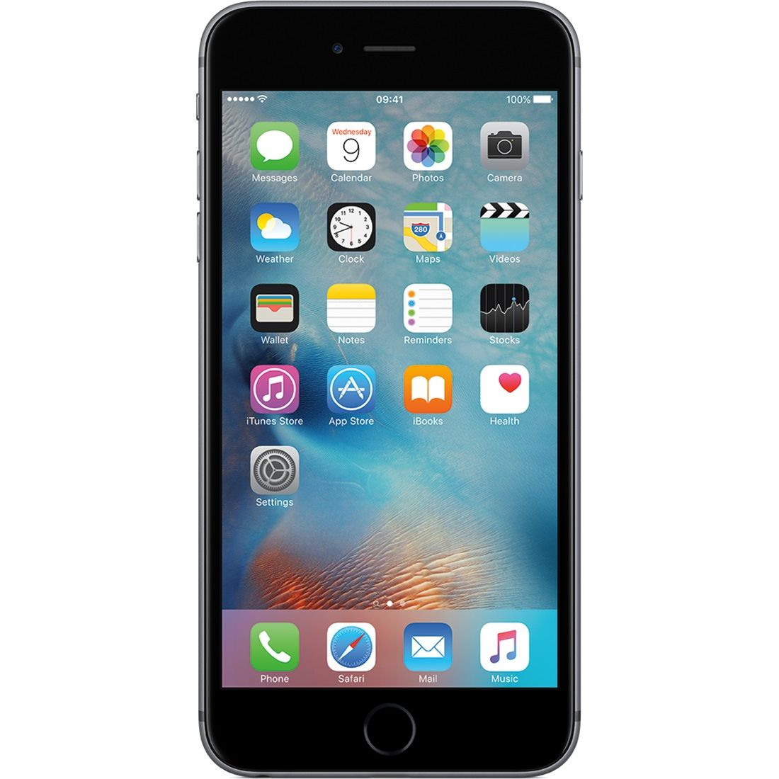 Telefon mobil Apple iPhone 6s, 128GB, 2GB RAM, 4G, Space Grey