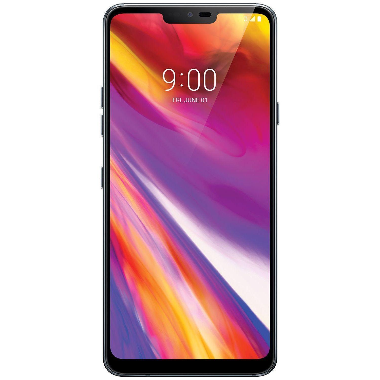Telefon mobil LG G7 ThinQ, Dual SIM, 64GB, 4GB RAM, 4G, New Platinum Gray