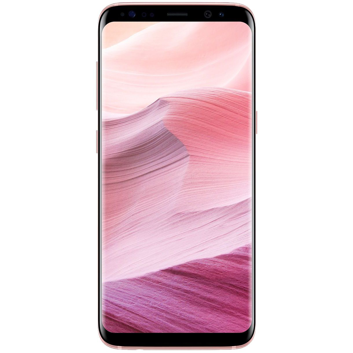 Telefon mobil Samsung Galaxy S8 Plus, Dual SIM, 64GB, 4GB RAM, 4G, Rose Pink