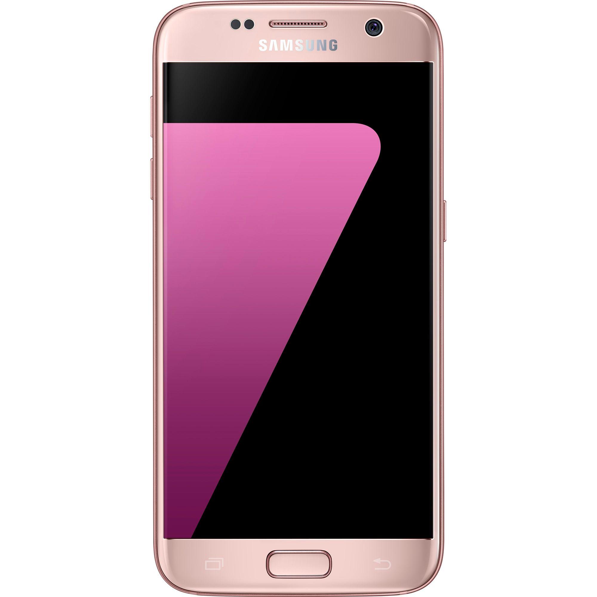 Telefon mobil Samsung Galaxy S7, 32GB, 4GB RAM, 4G, Pink Gold