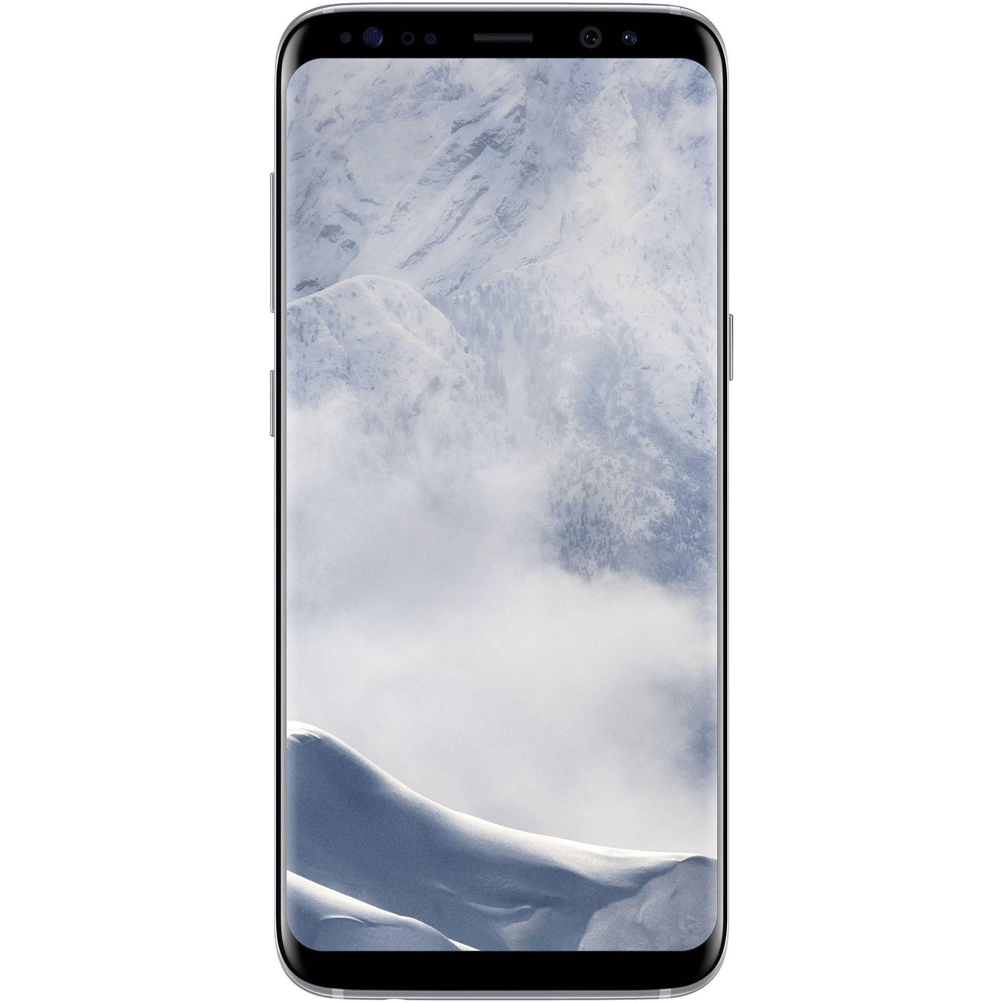 Telefon mobil Samsung Galaxy S8 Plus, Dual SIM, 64GB, 4GB RAM, 4G, Arctic Silver