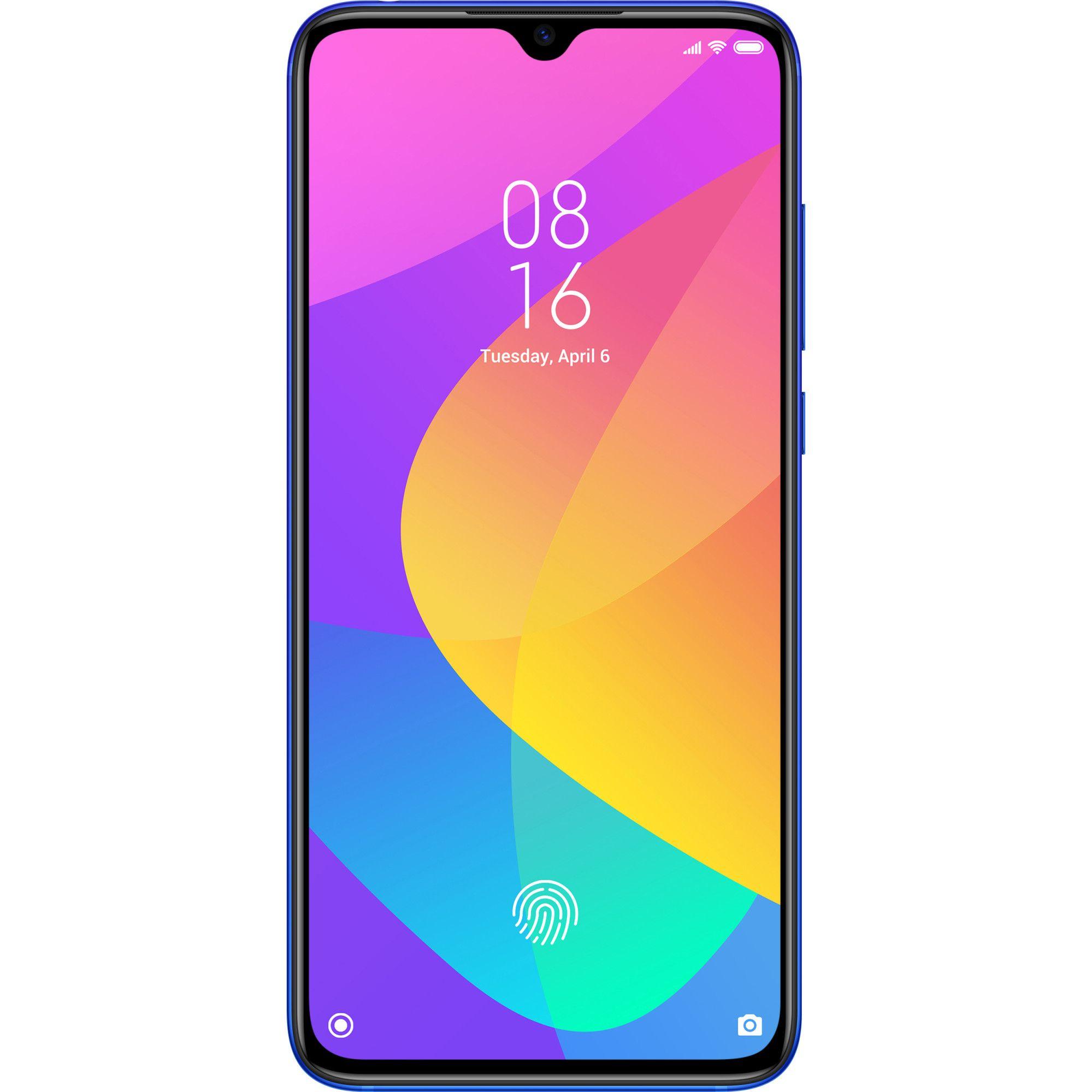 Telefon mobil Xiaomi Mi 9 Lite, Dual SIM, 128GB, 6GB RAM, 4G, Aurora Blue