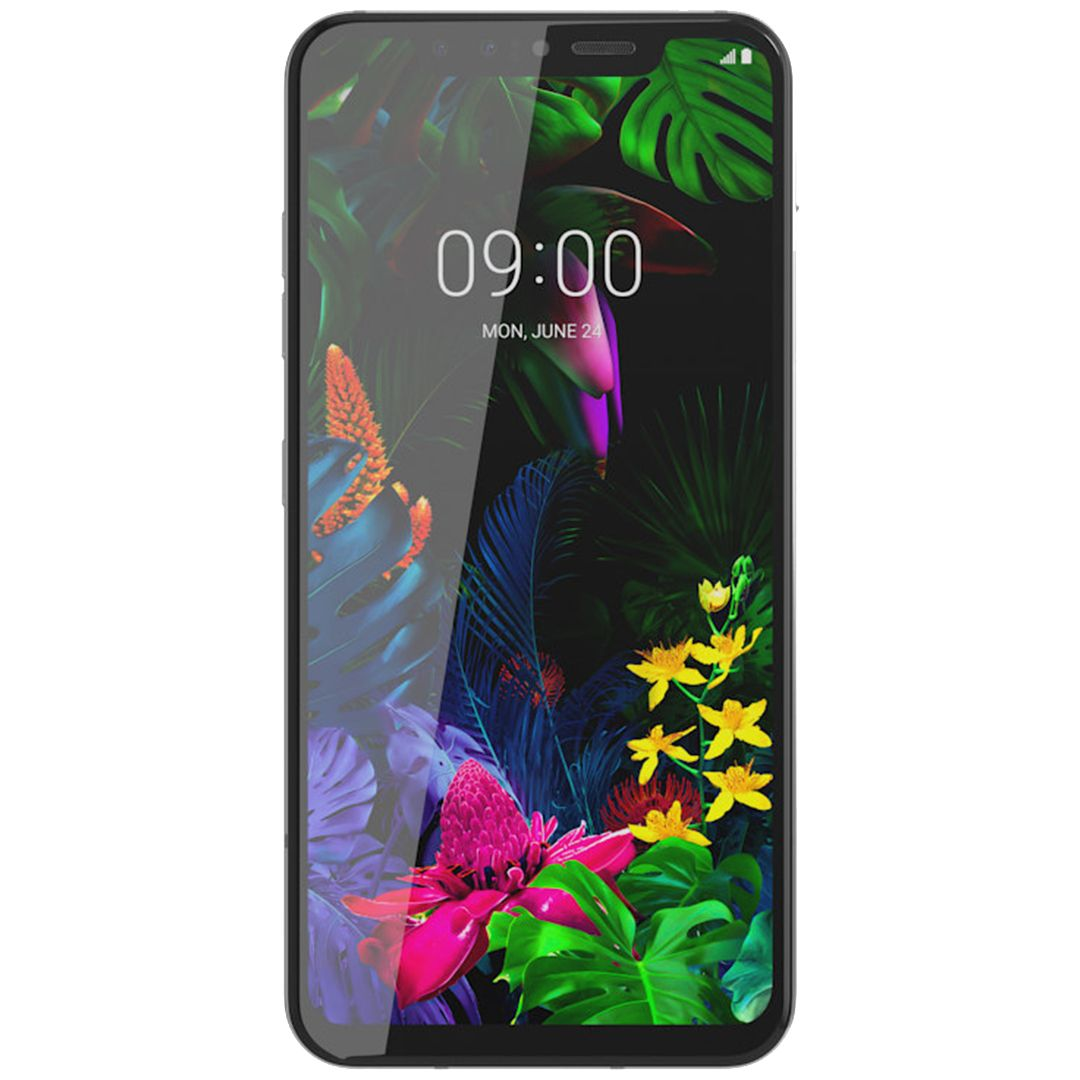 Telefon mobil LG G8s ThinQ, Dual SIM, 128GB, 6GB RAM, 4G, Mirror White