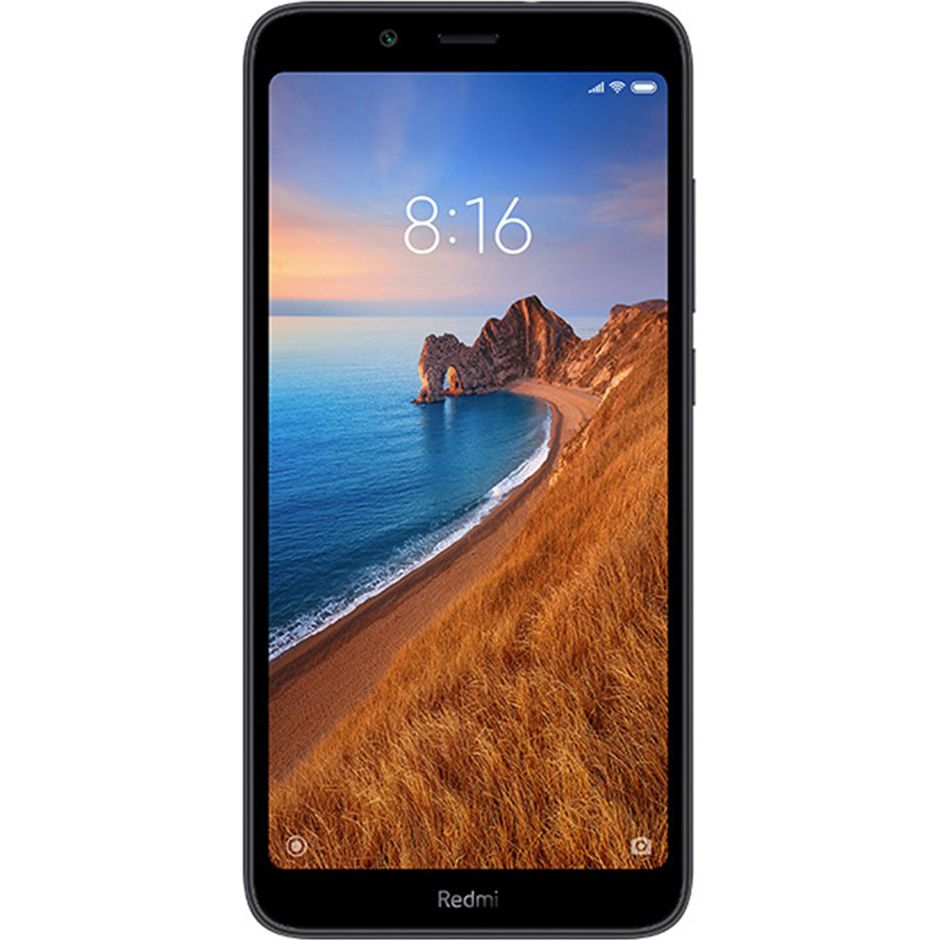 Telefon Mobil Xiaomi Redmi 7A, Dual Sim, 32GB, 2GB RAM, 4G, Matte Black