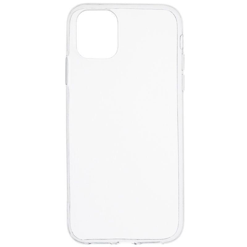 Husa silicon pentru Apple iPhone 12 mini, Clear Case, Transparent