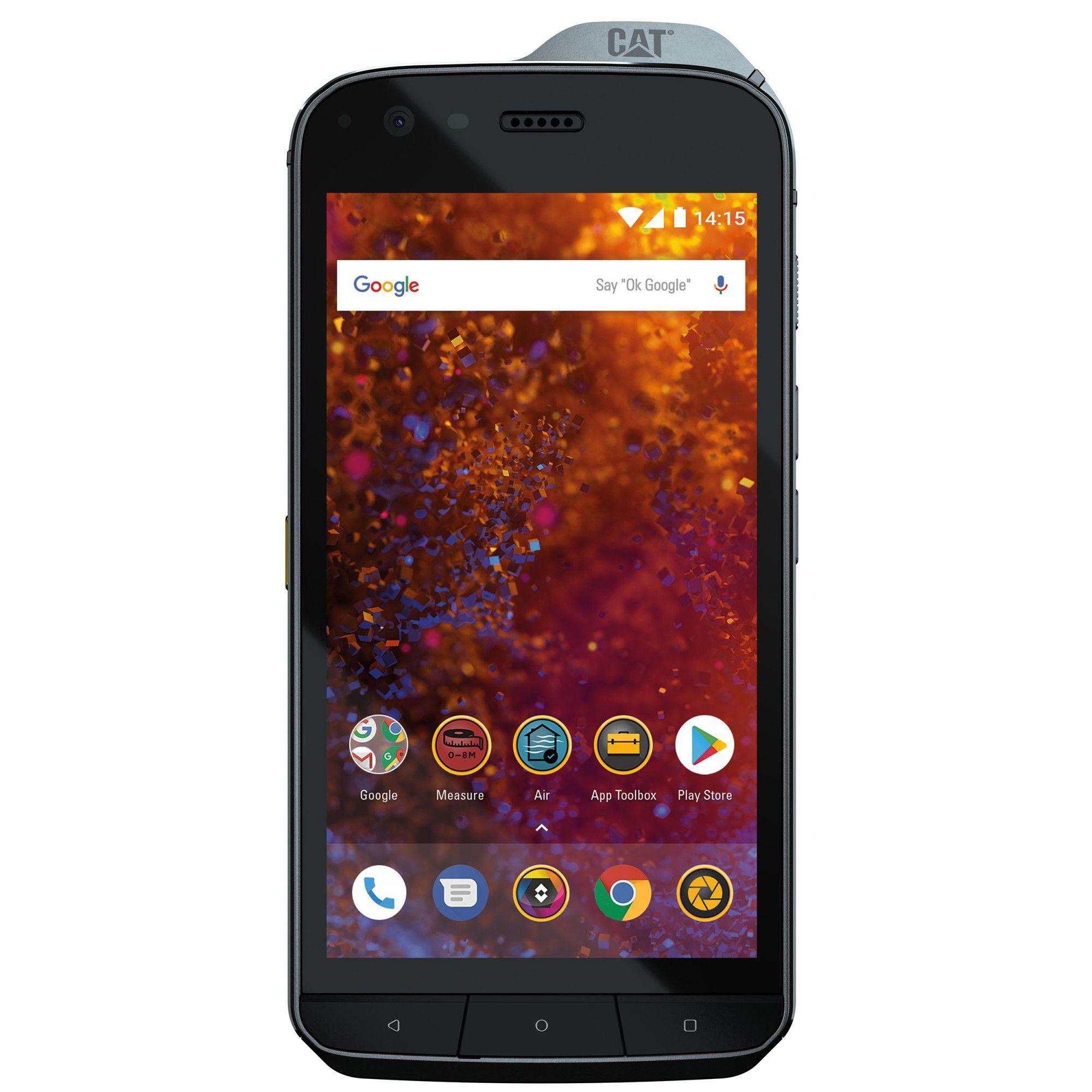 Telefon mobil Caterpillar S61, 64GB, 4GB RAM, Dual SIM, Black