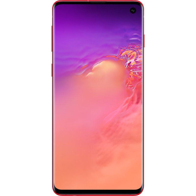 Telefon mobil Samsung Galaxy S10, G973, Dual SIM, 128GB, 8GB RAM, 4G, Cardinal Red