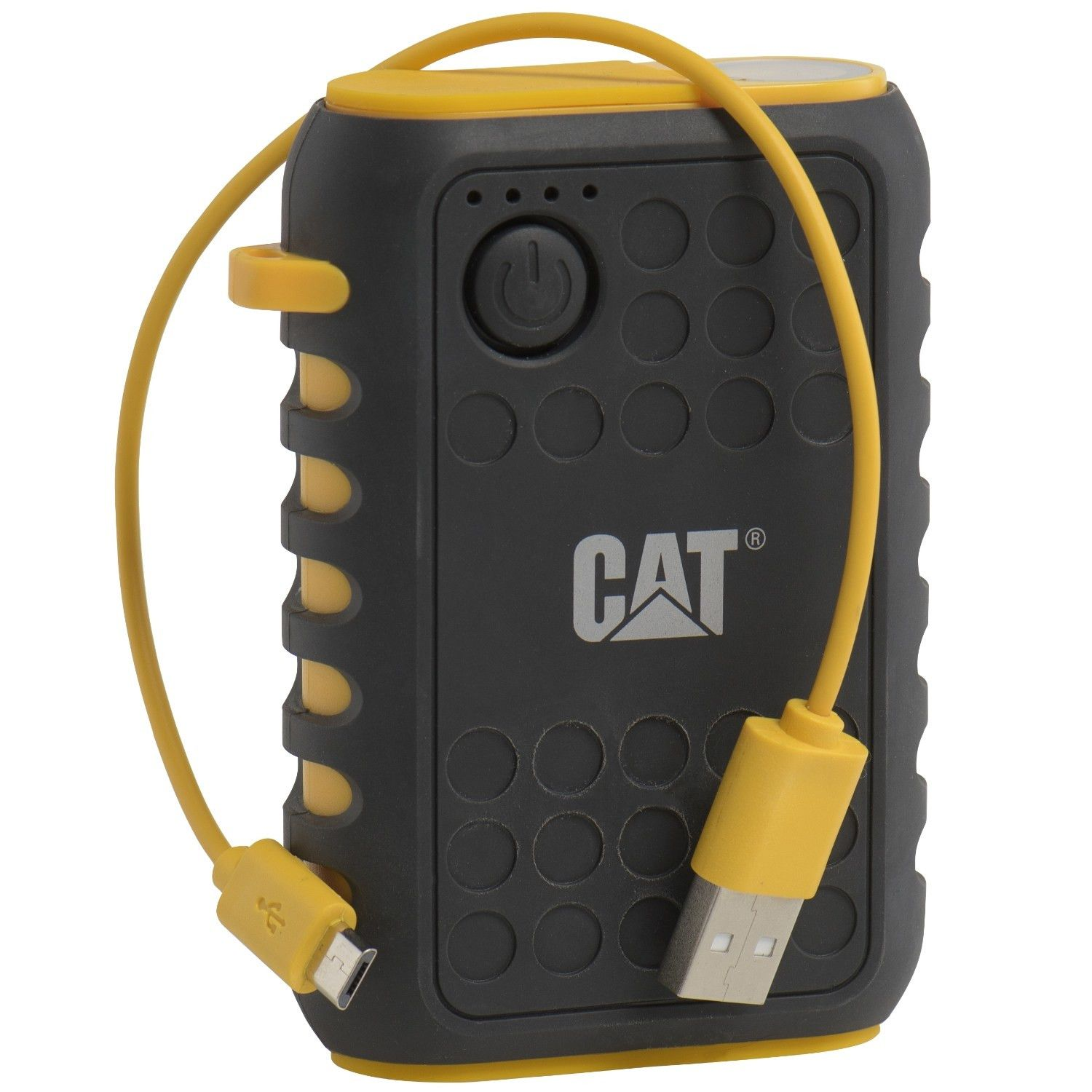 Baterie Externa (Powerbank) CAT Active Urban, IP65 Rugged, 10000 mAh, Incarcare rapida, Negru/Galben
