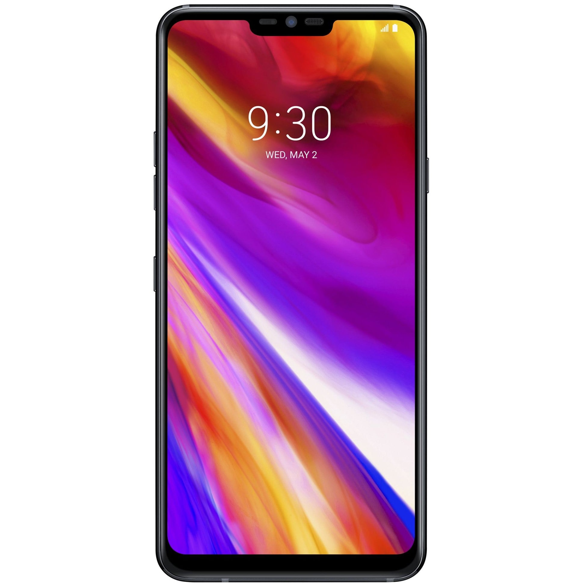 Telefon mobil LG G7 ThinQ, Single SIM, 64GB, 4GB RAM, 4G, New Aurora Black