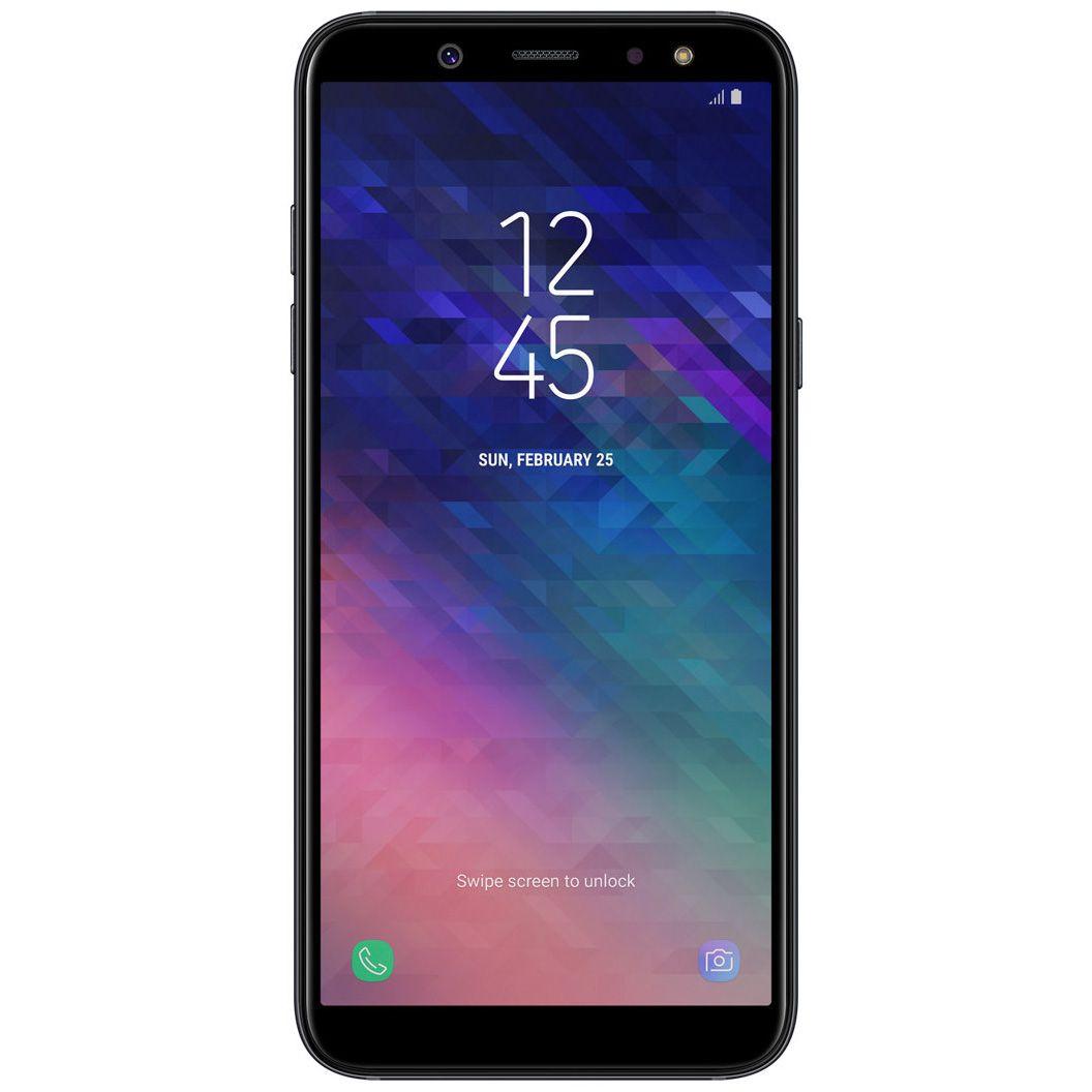 Telefon mobil Samsung Galaxy A6 (2018), A600, Dual SIM, 32GB, 3GB RAM, 4G, Black