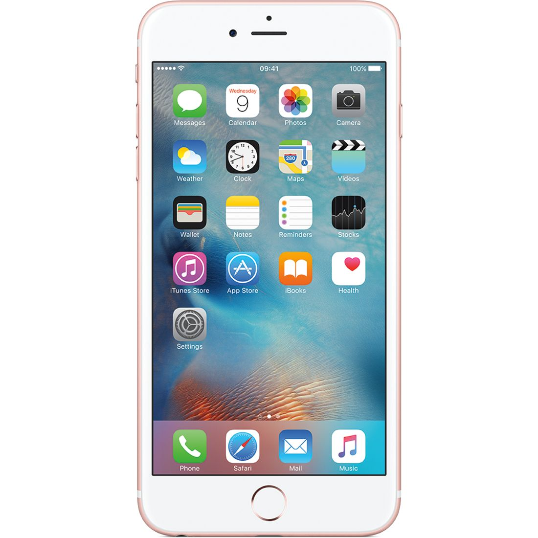 Telefon mobil Apple iPhone 6s, 128GB, 2GB RAM, 4G, Rose Gold