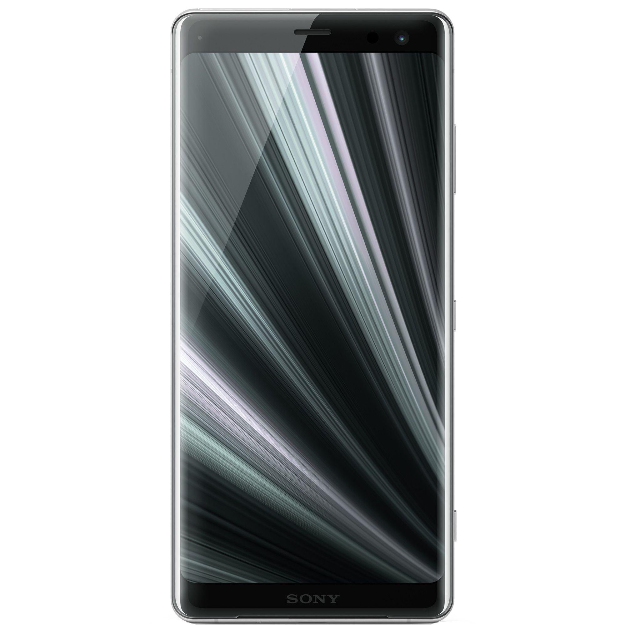 Telefon mobil Sony Xperia XZ3, Dual Sim, 64GB, 4GB RAM, 4G, White Silver