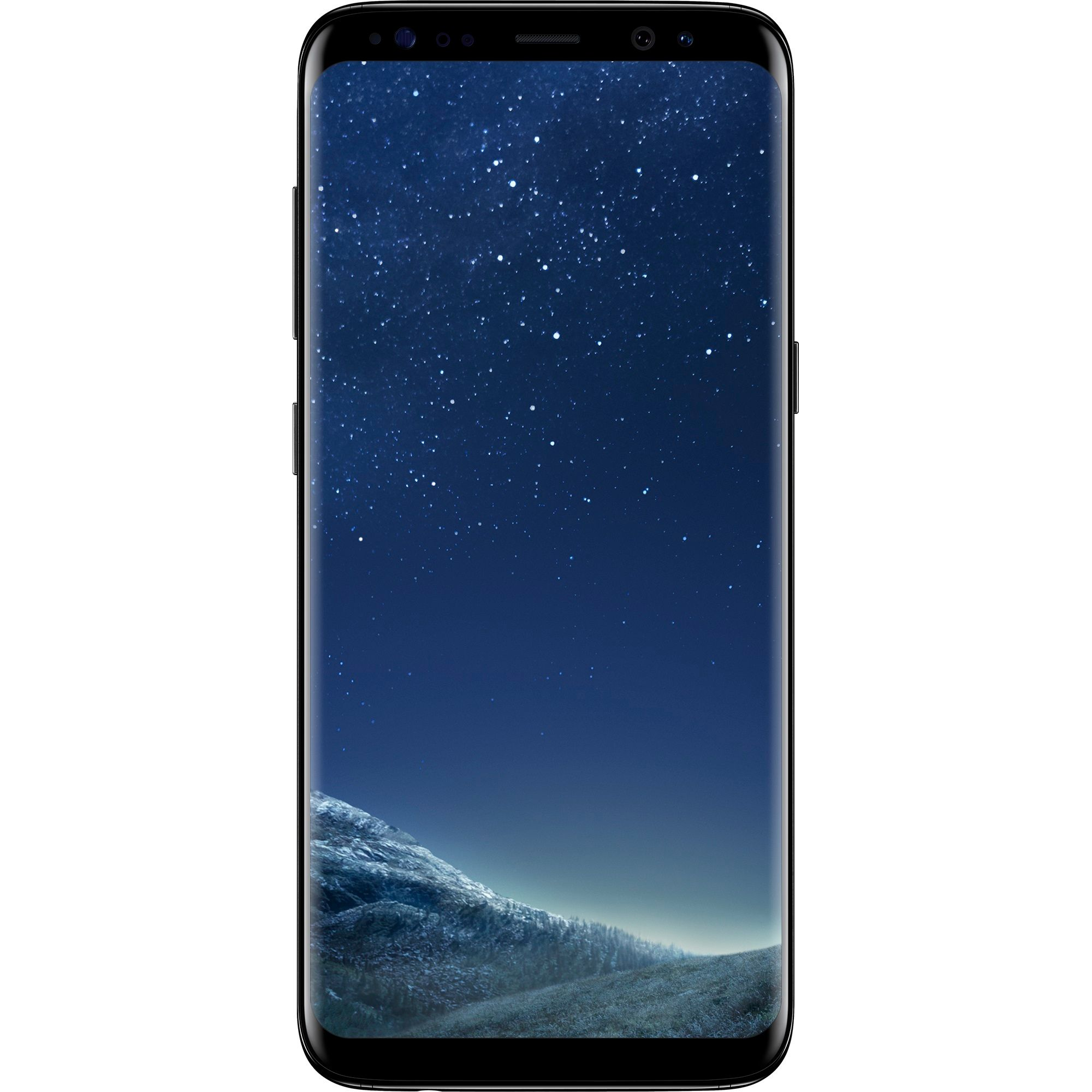 Telefon mobil Samsung Galaxy S8 Plus, Single SIM, 64GB, 4GB RAM, 4G, Midnight Black