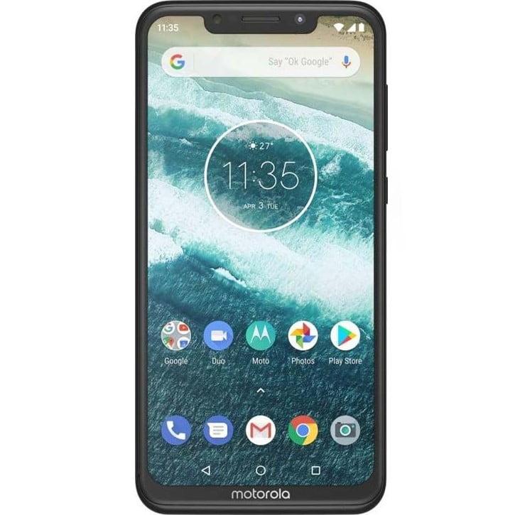 Telefon mobil Motorola One (P30 Play), Dual SIM, 32GB, 3GB RAM, 4G, White