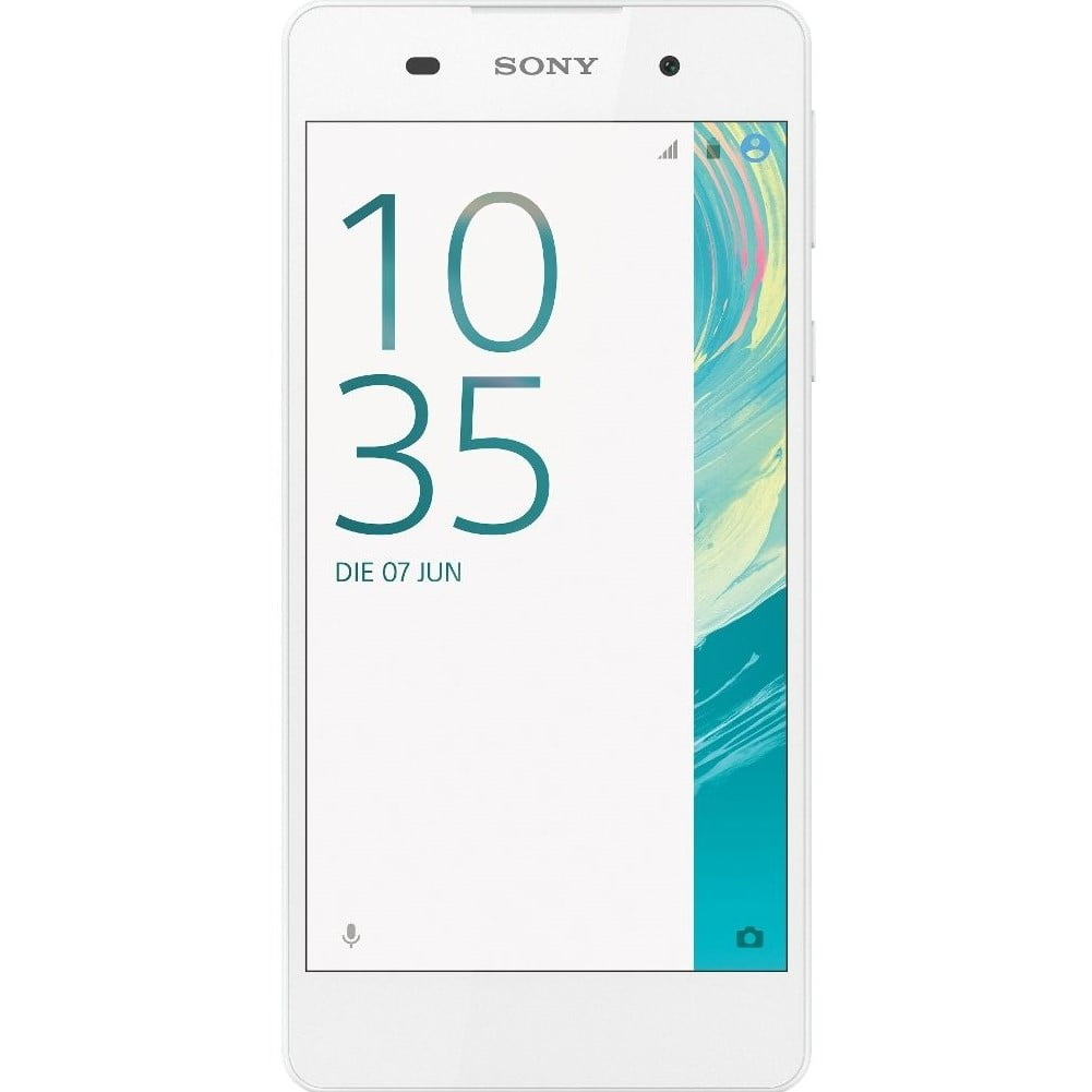 Telefon mobil Sony Xperia E5, Single SIM, 16GB, 1.5GB RAM, 4G, White