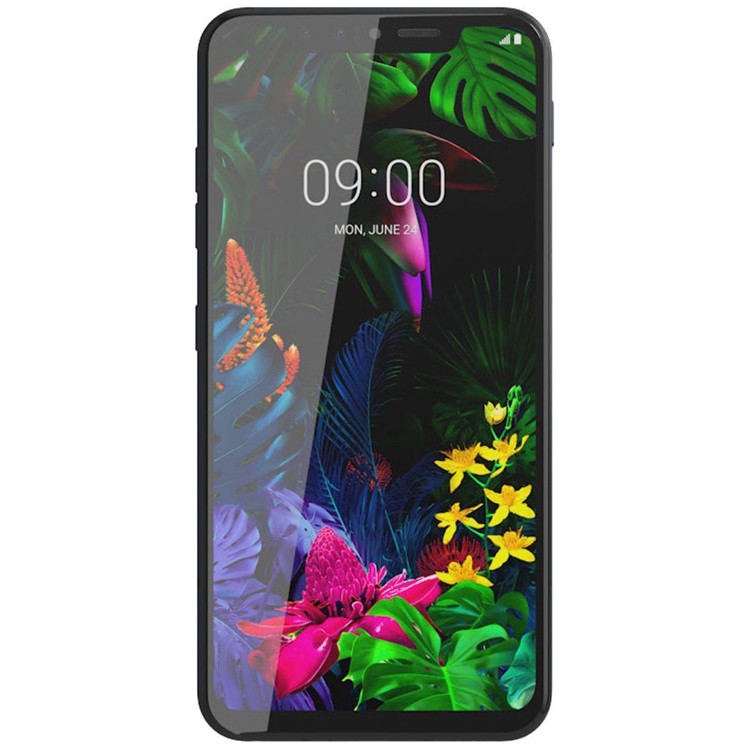 Telefon mobil LG G8s ThinQ, Dual SIM, 128GB, 6GB RAM, 4G, Mirror Black