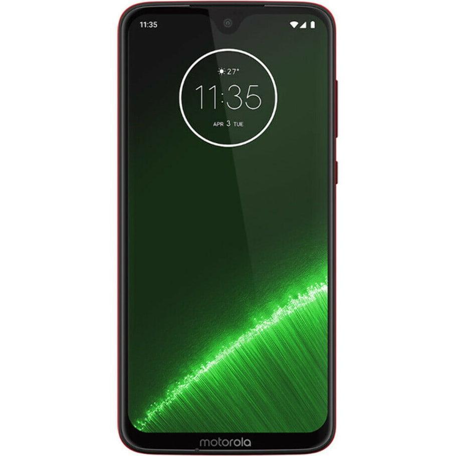 Telefon mobil Motorola Moto G7 Plus, Dual SIM, 64GB, 4GB RAM, 4G, Viva Red