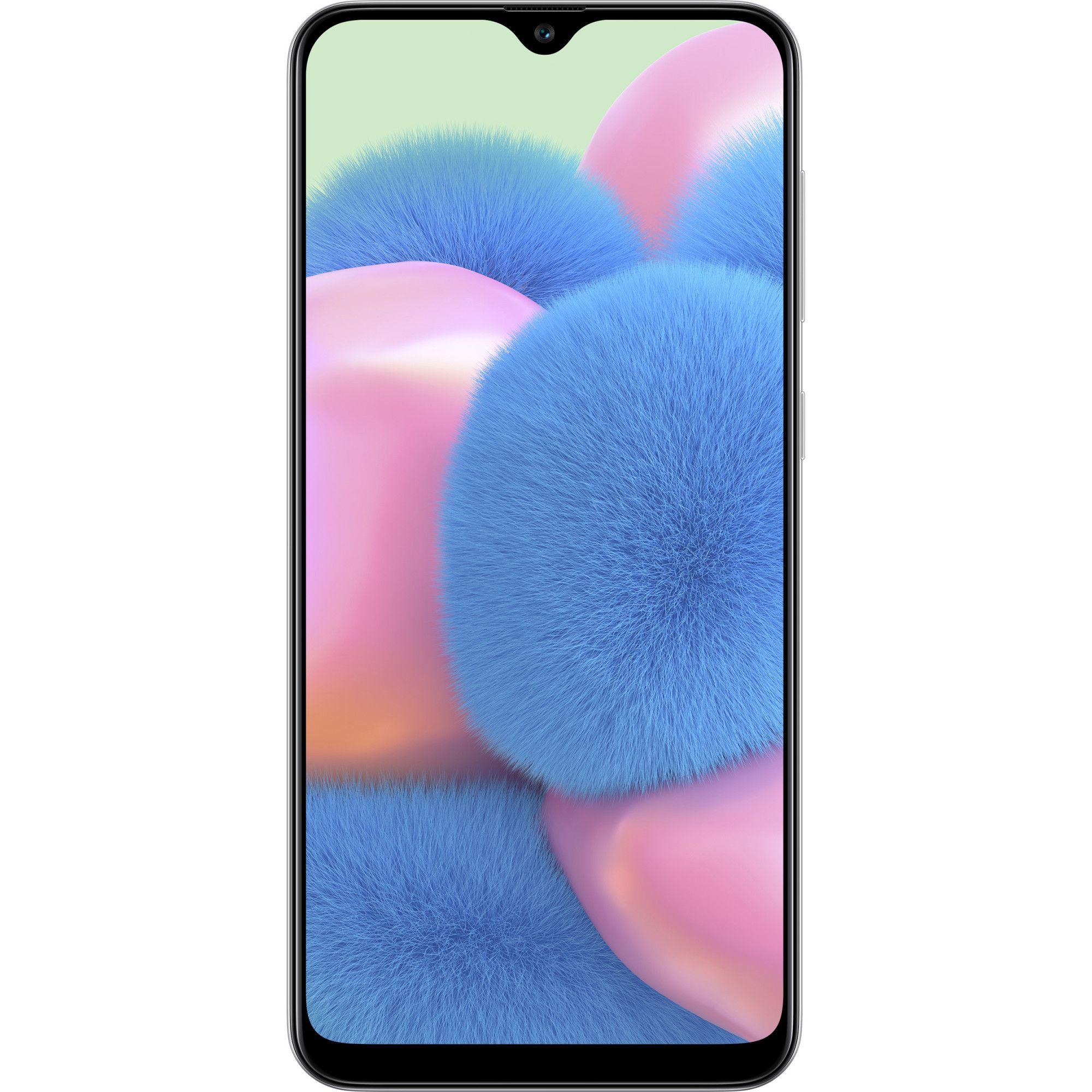 Telefon mobil Samsung Galaxy A30s, Dual SIM, 64GB, 4GB RAM, 4G, Crush White