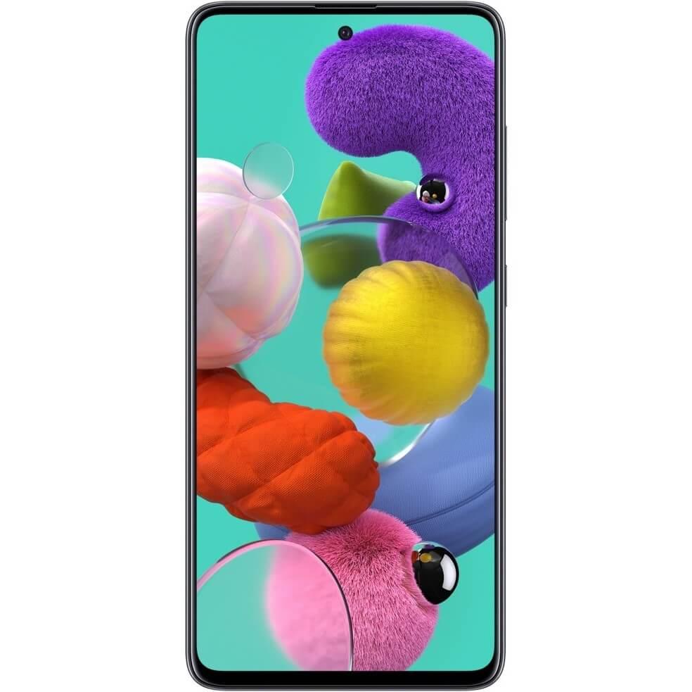 Telefon mobil Samsung Galaxy A51, A515, Dual SIM, 128GB, 4GB RAM, 4G, Prism Black