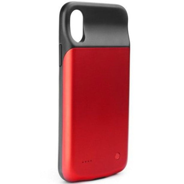Husa cu baterie externa pentru Apple iPhone X/ XS, 3200mAh, Red