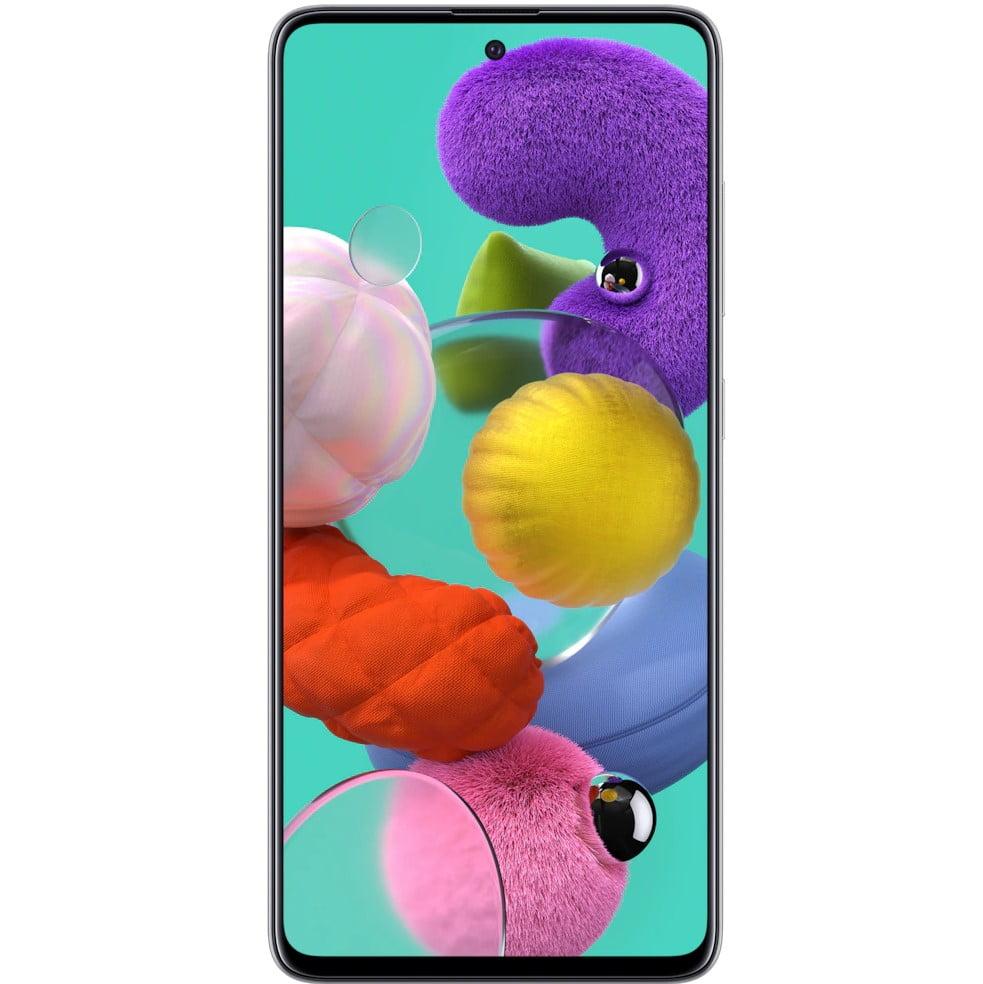 Telefon mobil Samsung Galaxy A51, A515, Dual SIM, 128GB, 4GB RAM, 4G, Prism White