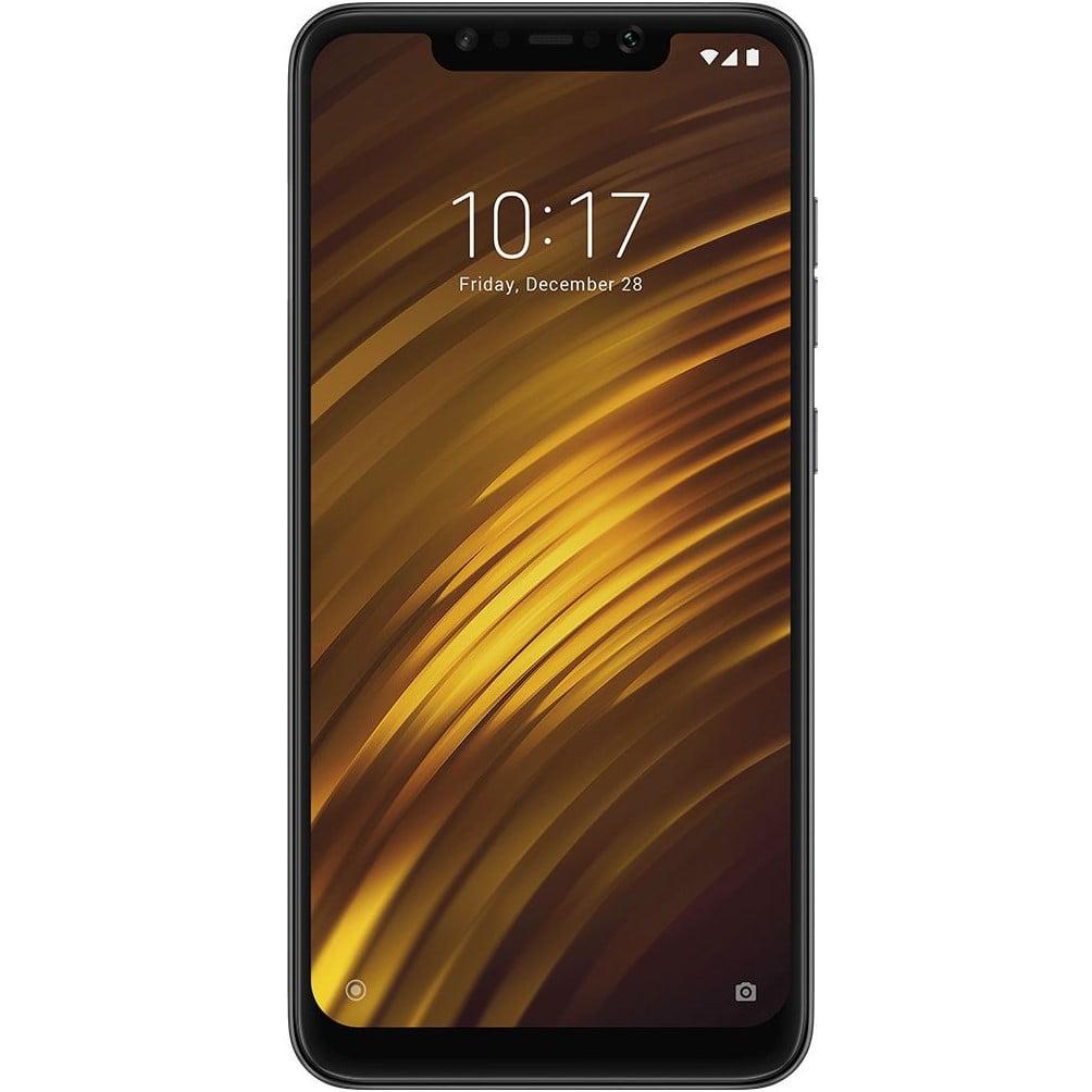 Telefon mobil Xiaomi Pocophone F1, Dual SIM, 128GB, 6GB RAM, 4G, Steel Blue