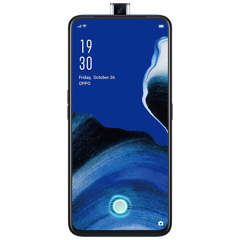 Telefon mobil OPPO Reno2 Z, Dual SIM, 128GB, 8GB RAM, 4G, Luminous Black