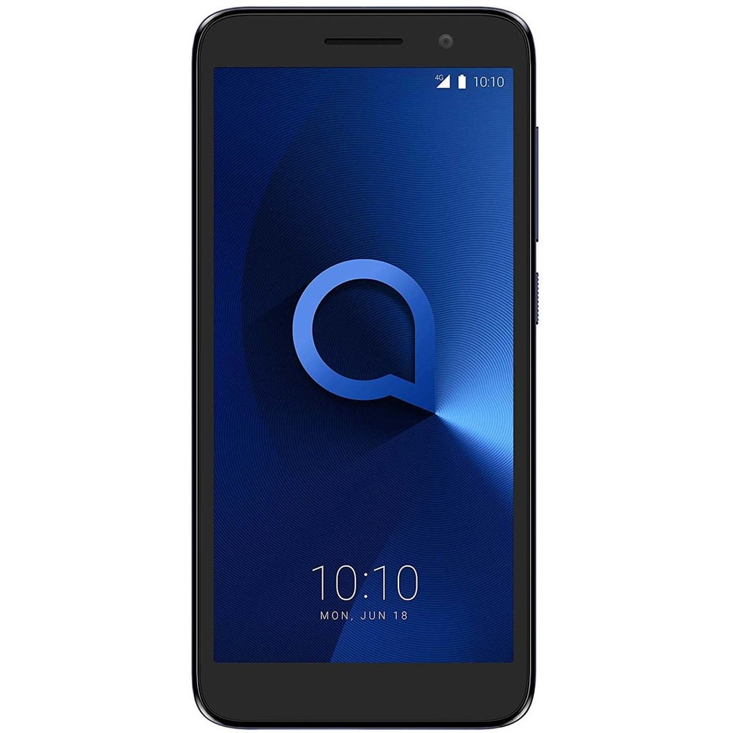 Telefon mobil Alcatel One 5033, Dual SIM, 8GB, 1GB RAM, 4G, Bluish Black