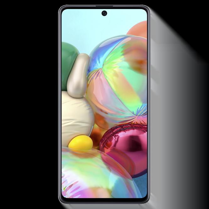 Telefon mobil Samsung Galaxy A71, A715, Dual SIM, 128GB, 6GB RAM, 4G, Silver