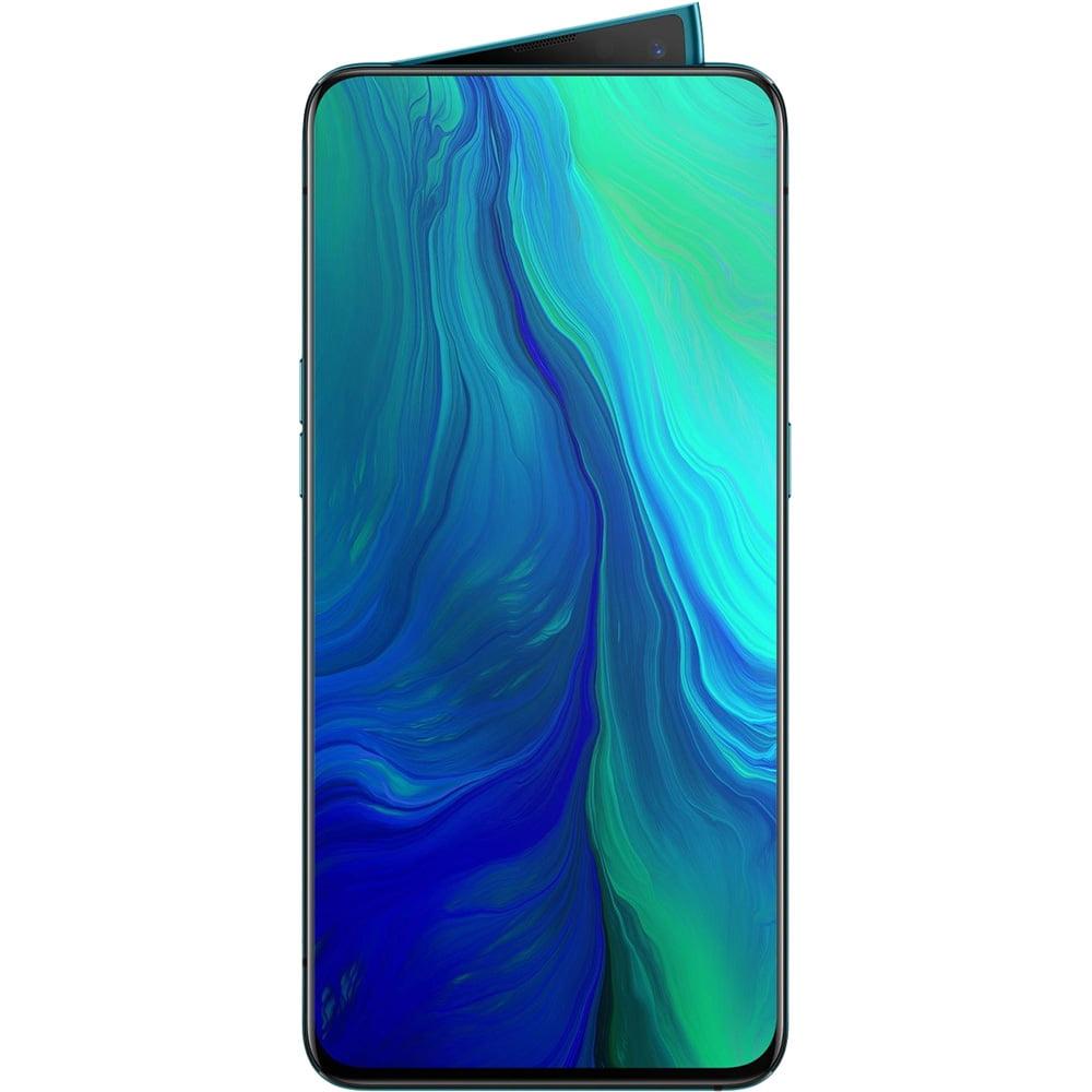 Telefon mobil OPPO Reno, Dual SIM, 256GB, 6GB RAM, 4G, Ocean Green
