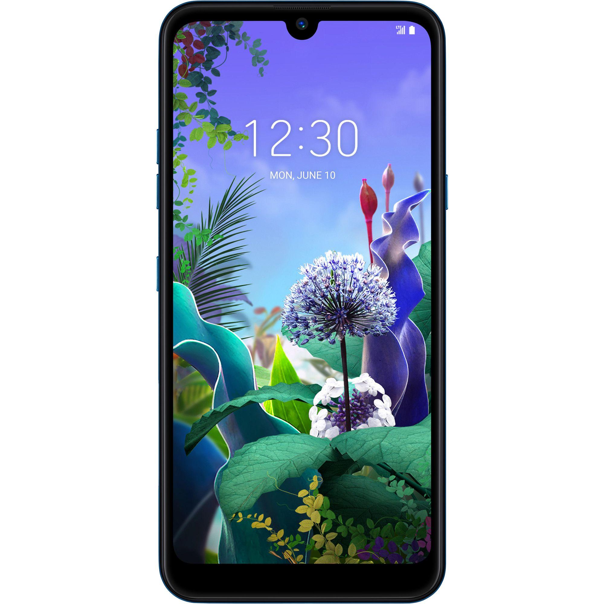 Telefon mobil LG Q60, Dual SIM, 64GB, 3GB RAM, 4G, Moroccan Blue