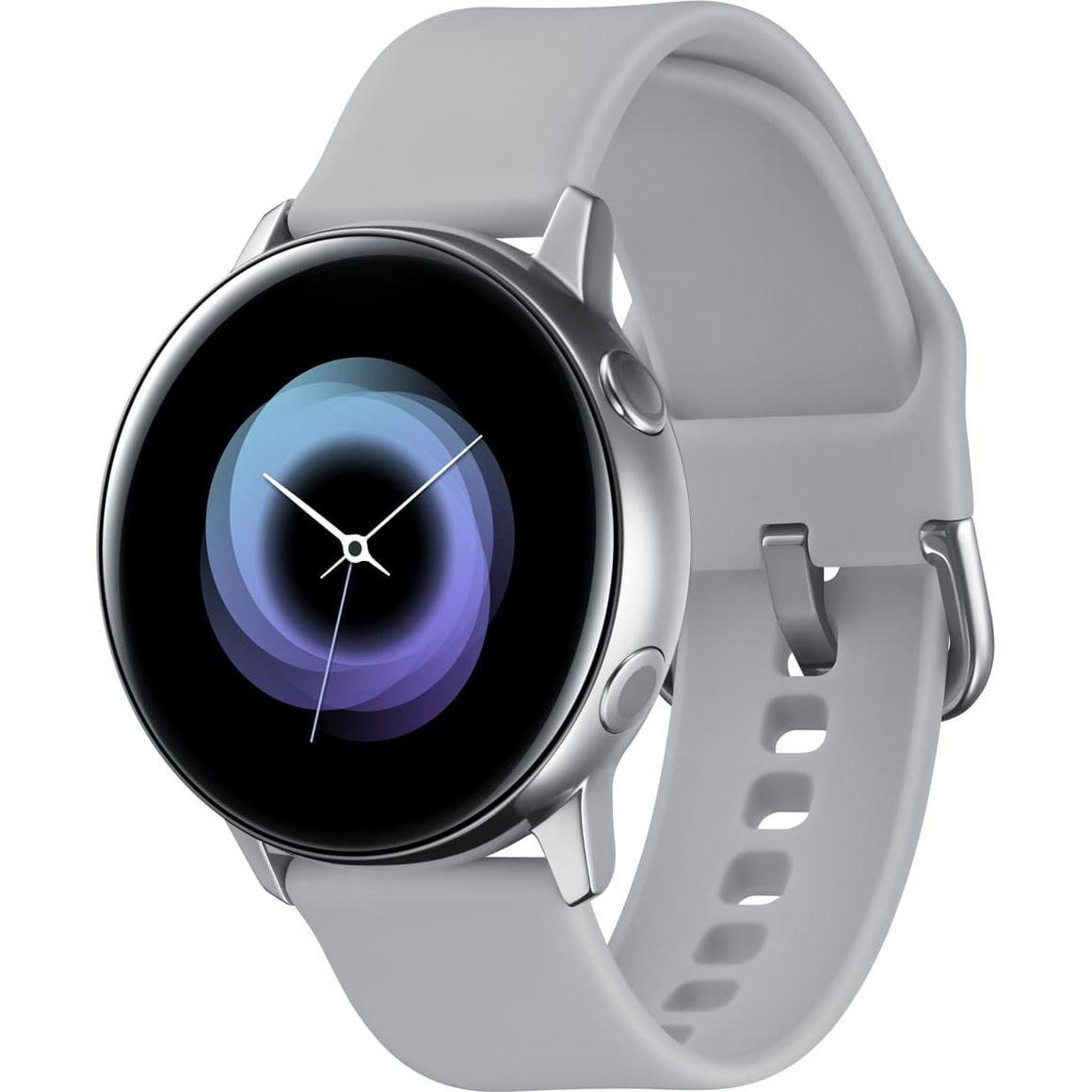 Ceas Smartwatch Samsung Galaxy Watch Active, R500N, 40mm, Wi-Fi, GPS, Aluminium, Silver
