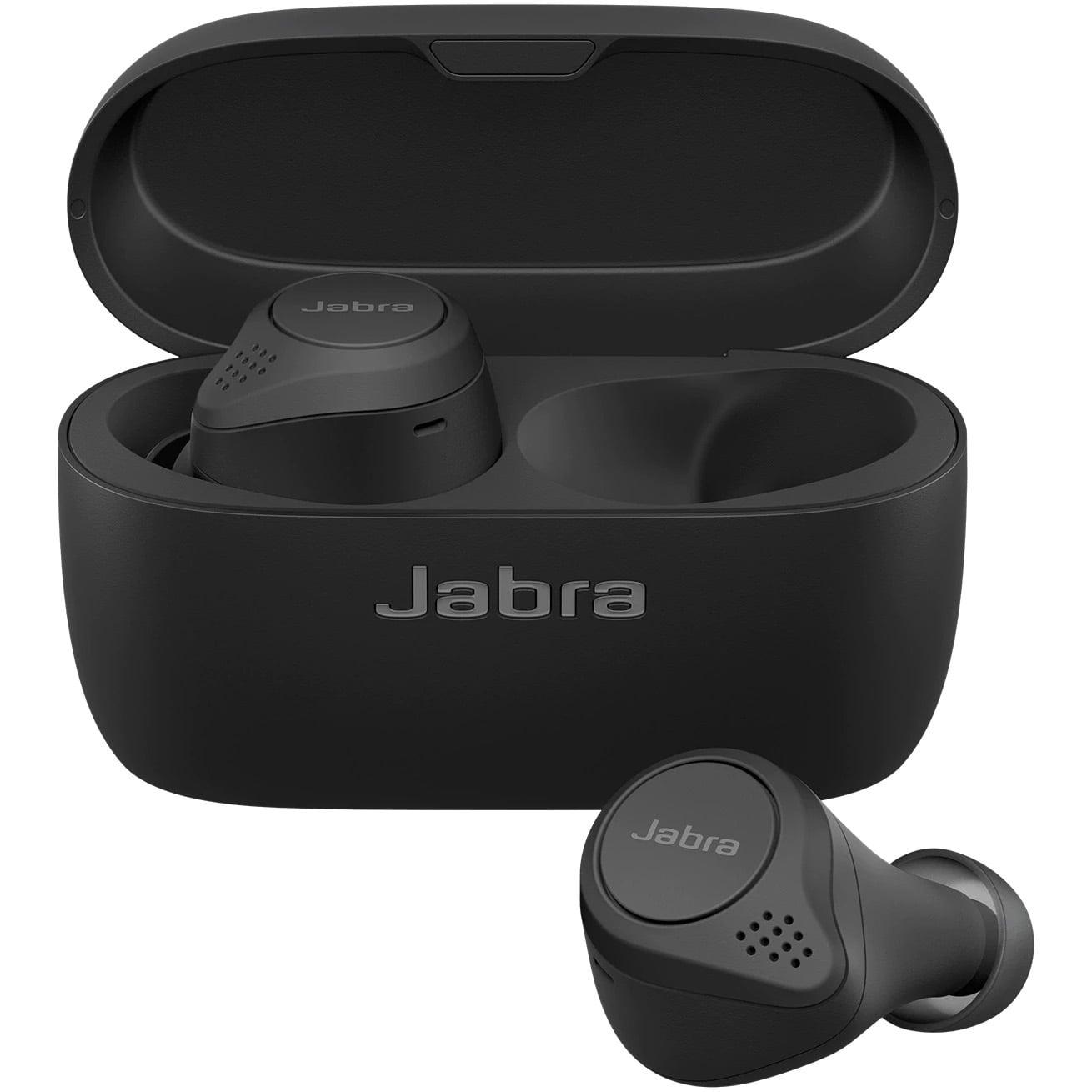 Casti Jabra Elite 75t, In-Ear, Bluetooth, Carcasa de incarcare portabila, Black