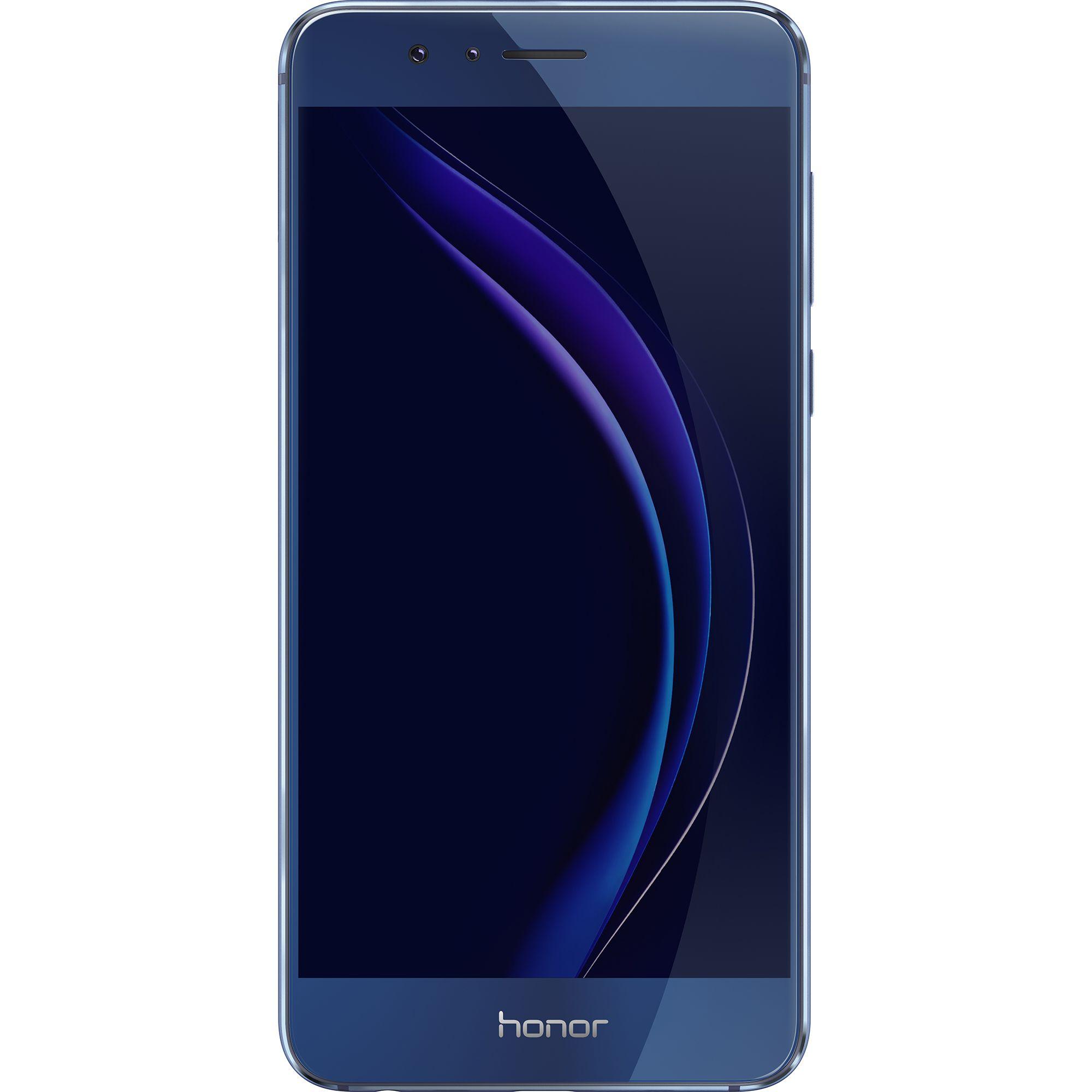 Telefon mobil Honor 8, Dual SIM, 32GB, 4GB RAM, 4G, Sapphire Blue