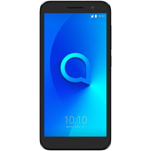 Telefon mobil Alcatel One 5033, Dual SIM, 8GB, 1GB RAM, 4G, Volcano Black